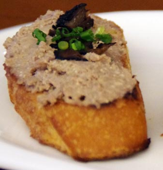 how to serve goose liver pate