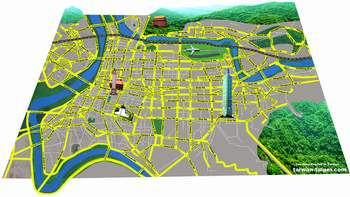 map Taipei grey preview