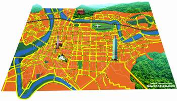 taipei map preview orange